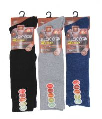 Mens 12 pairs long thermal socks MN271834